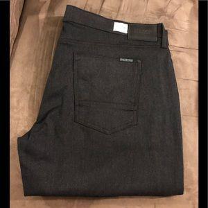 Hudson NEW Black & Grey Slim Denim Jeans 40x34